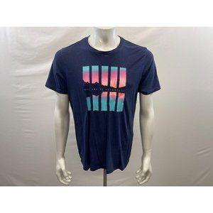 Old Navy Men's Blue Graphical Say yes to adventure